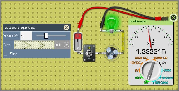 Simulating circuits with realistic look components